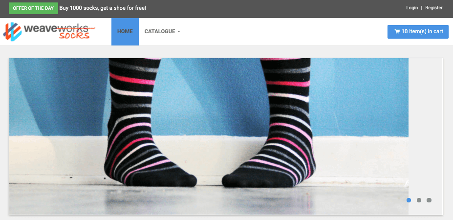 Sock Shop Demo App - Find Root Cause with Zebrium ML