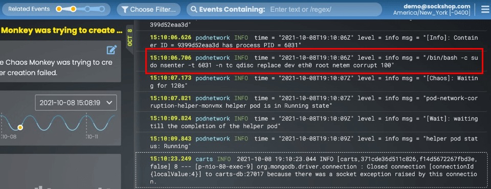 related events zoom out