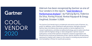 Zebrium Named a 2020 Gartner Cool Vendor | AIOps