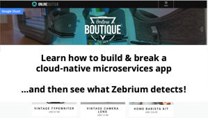 Try ML-Driven RCA using a microservices demo app | Zebrium