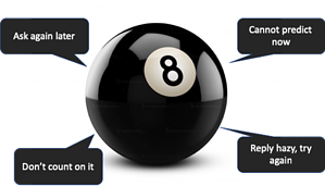 Do your logs feel like a magic 8 ball?