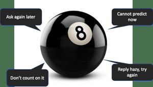 Do your logs feel like a magic 8 ball?