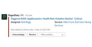 Zebrium can augment PagerDuty incidents | Zebrium