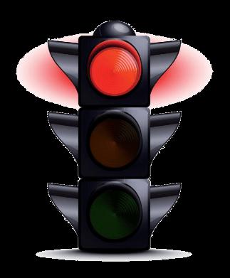 traffic light transparent MEDIUM