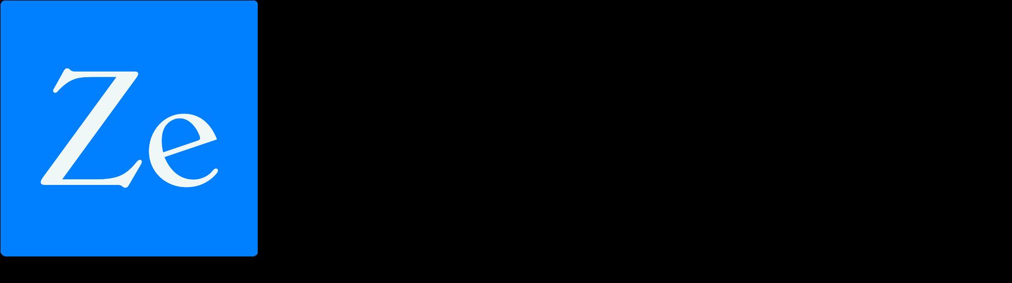 Zebrium logo horizontal