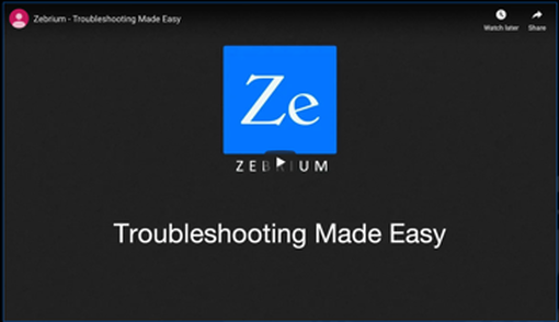 Troubleshooting the easy way